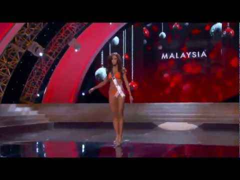 MISS UNIVERSE 2012 PRELIMINARY COMPETITION --- KIMBERLEY LEGGETT [MALAYSIA] COMPLETE