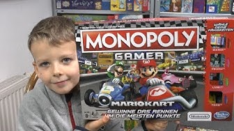 Monopoly Gamer (Hasbro Gaming) - ab 8 Jahre - Macht das überhaupt Spaß mit Mario bzw. Luigi?