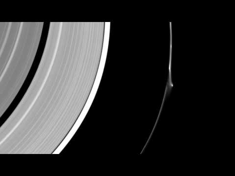 Mystery Object/Craft Crashes Through Saturns Rings