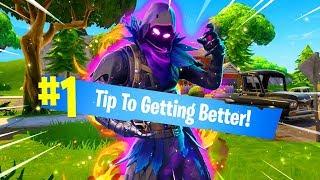 #1 TIP TO GET BETTER at Fortnite: Battle Royale