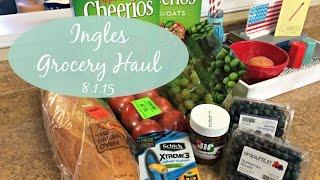 Ingles Grocery Haul 8.1.15 | Incredible Savings!