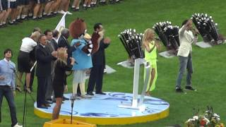 Гимн ЧМ-2013 по легкой атлетике Церемония закрытия