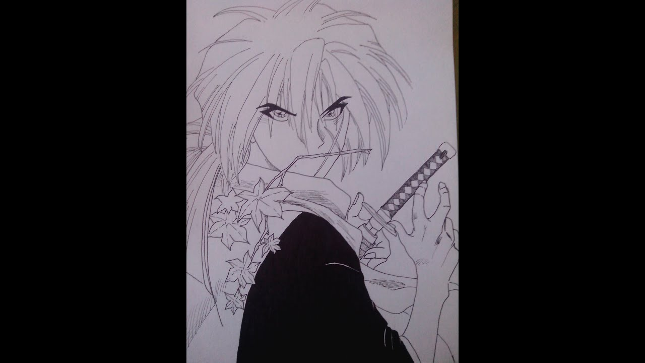 How To Draw Kenshin Himura