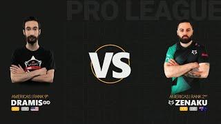 dramiS vs ZenAku - Quake Pro League - Stage 3 - Week 7