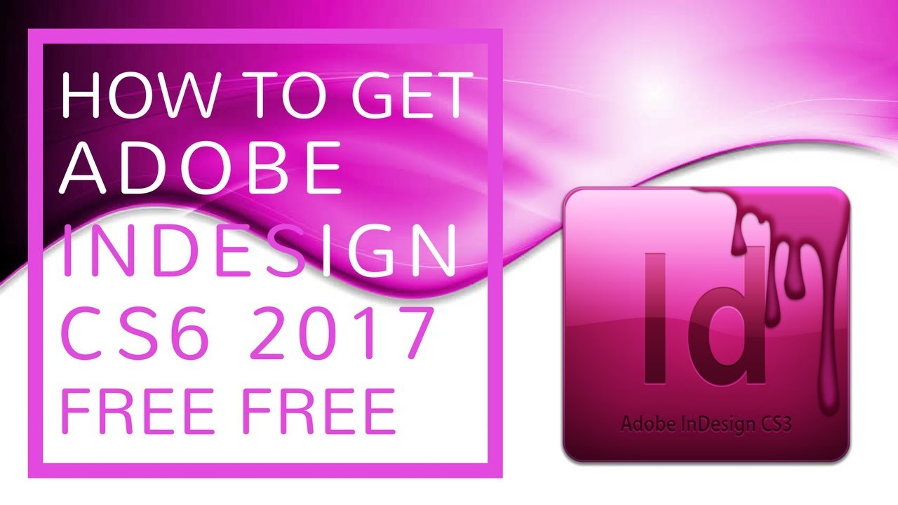 free download adobe indesign cs6 portable full version