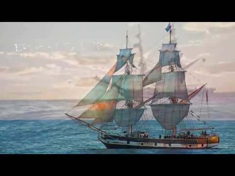 The Pilgrim - Dana Point, CA - Aerial Video After It Keeled And Started Sinking.