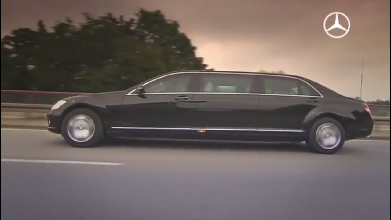 Mercedes benz s 600 pullman guard youtube for Mercedes benz guard for sale