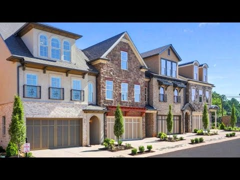 Atlanta Decorated Luxury Townhome Tour I 4 Bdrms I 3.2 Baths I 2 Car Garage I BP $589,900