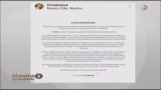 Irina Baeva acepta ser la