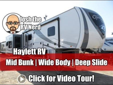 2019 open range 371mbh middle bunk bonus room wide body for Fifth wheel with bonus room