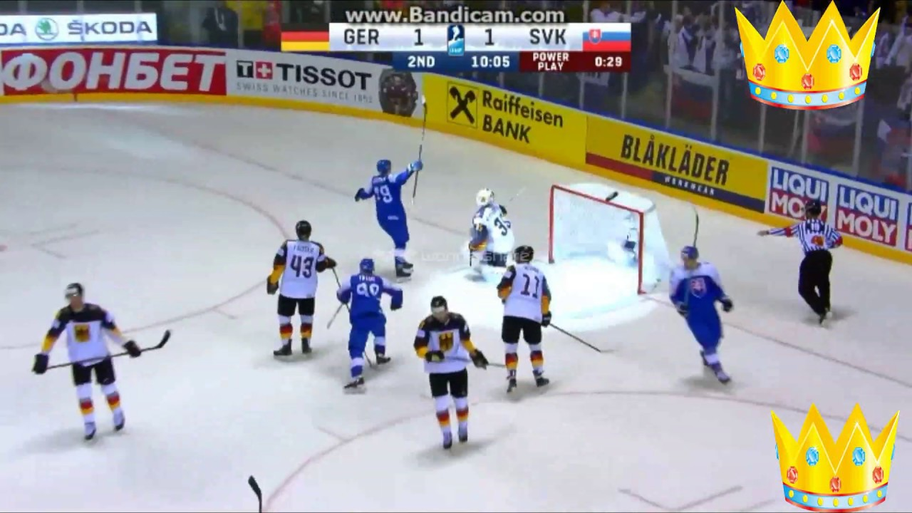 MS v hokeji 2019 NEMECKO - SLOVENSKO 3:2 RTVS-Komentár