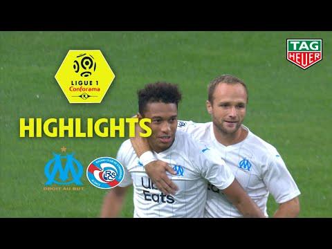 Olympique de Marseille - RC Strasbourg Alsace ( 2-0 ) - Highlights - (OM - RCSA) / 2019-20