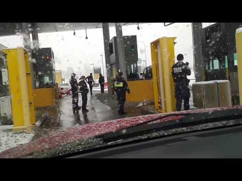 US/Canada border take down, arrest