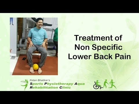 Treatment of Non Specific Lower Back Pain