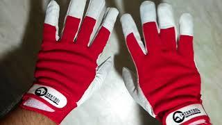 Обзор перчаток из высококачественной белой кожи.