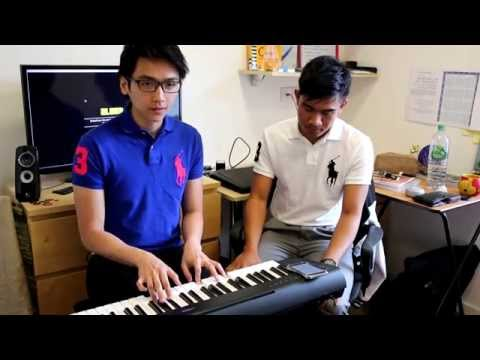 (Bloopers) Amin & Hirzie - Miserable at Best ( Mayday Parade)