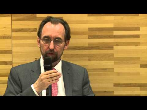 An interview with the United Nations High Commissioner for Human Rights Zeid Ra'ad Al Hussein