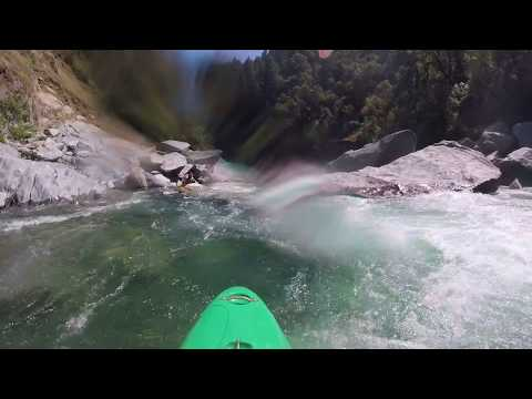 Staircase Rapid (Upper part), North Fork American River, 640 cfs, May 2018