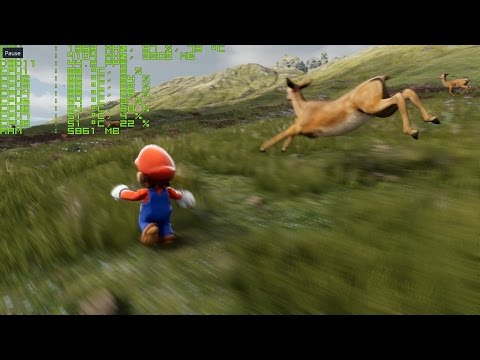 Unreal Engine 4 [4.8.1] Super Mario / Kite Demo