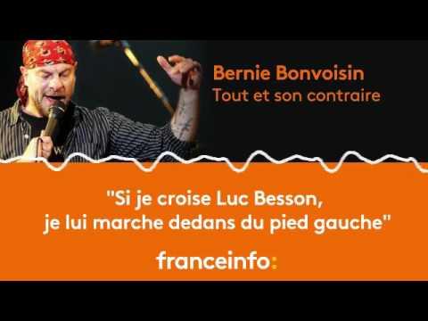 """Bernie Bonvoisin : """"Si je croise Luc Besson, je lui marche dedans du pied gauche"""""""