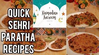 Sehri Recipes| Homemade Frozen Parathas | #2019ramadan