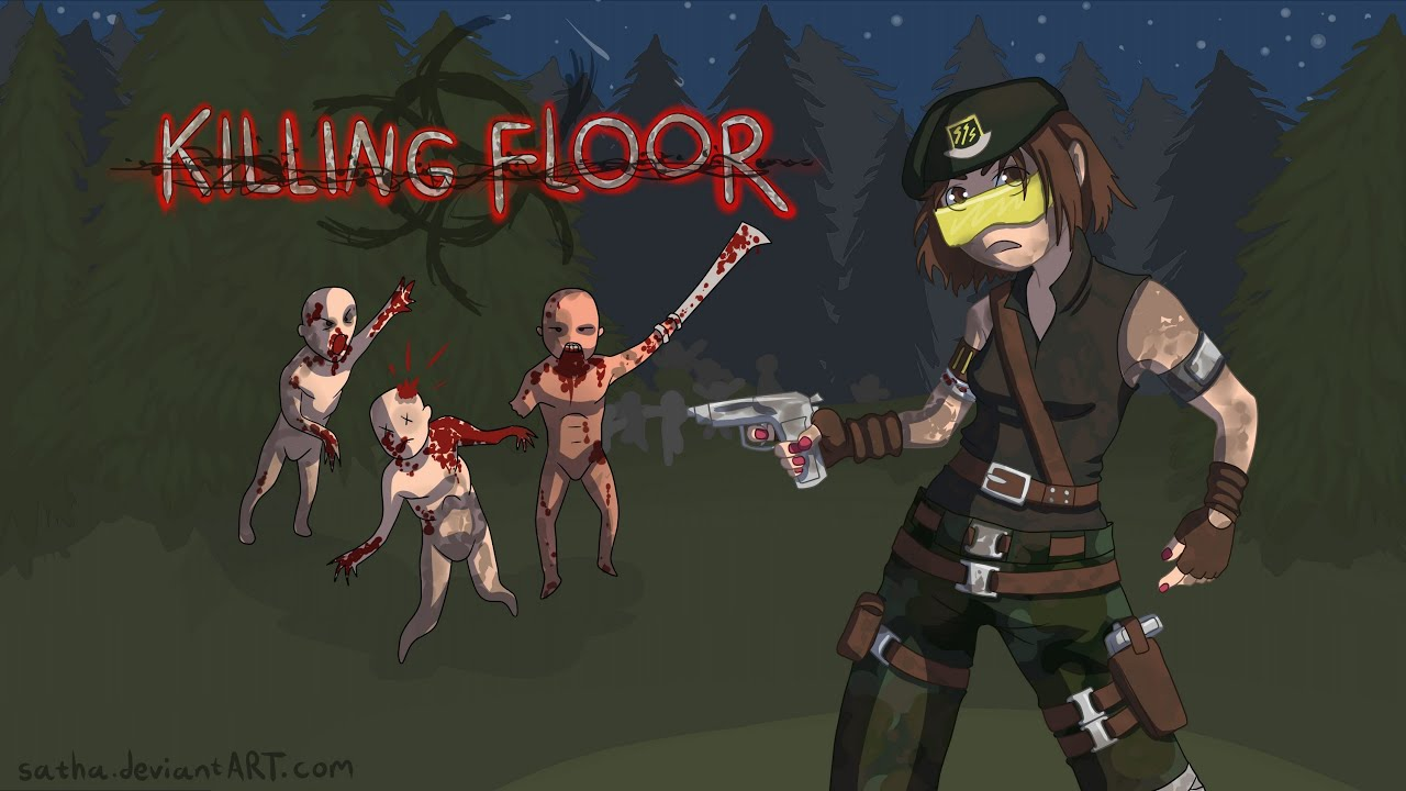 Perfect Drawing Ash Harding From Killing Floor   YouTube