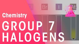 Group 7 - The Halogens | The Chemistry Journey | The Fuse School