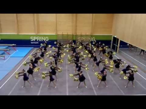 UEA Angels Cheer Dance - Derby Day Squad 2015