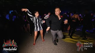 Brandon Ayala & Karel Flores - Salsa social dancing | Mamboland Milano 2018