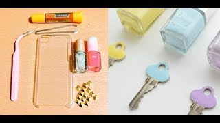 【DIY】真似したくなるマニキュアの驚きの活用術4選♡~Use surprises of manicure that you want to imitate. thumbnail