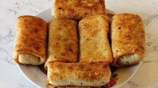 Блинчики с мясом / Pancakes with meat