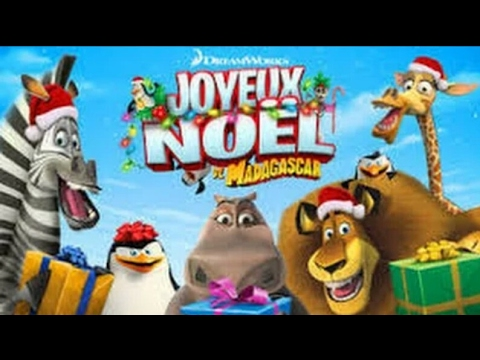Madagascar joyeux no l dessin annim fran ais youtube - Dessin joyeux noel ...