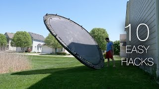 10 Crazy Things to do With a Trampoline...