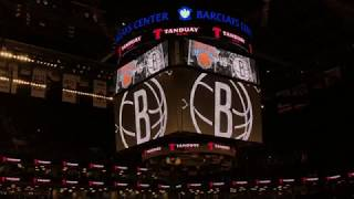 Brooklyn Nets 2017-2018 Intro (vs. New York Knicks)