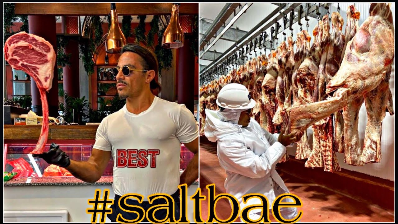 Salt bae king and steak | nusret et king and food #saltbae