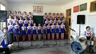 Viral !!! Lagu tanah airku dinyanyikan anak korea utara