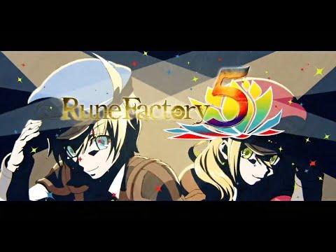 Rune Factory 5 Opening Cutscene - Nintendo Switch