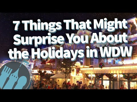 7 Things That Might Surprise You About the Holidays in Walt Disney World!
