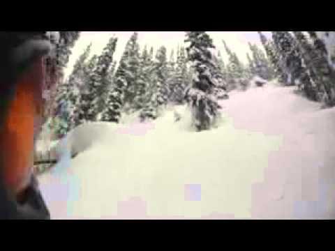 Henri oreiller 900 spin Sunshine Village Banff Canada Avalanche