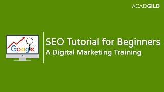 SEO Tutorial for Beginners 2017 | Introduction to SEO 2017 | Digital Marketing Tutorial