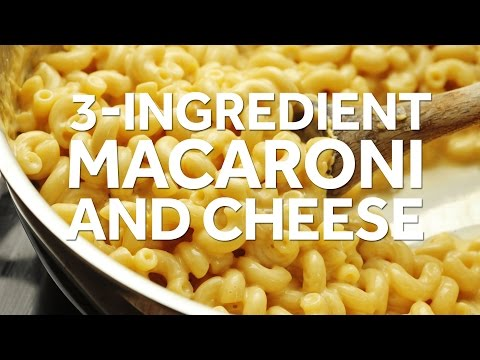 How To Make 3-Ingredient Stovetop Macaroni And Cheese