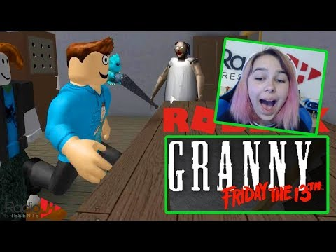 Playing Roblox GRANNY On FRIDAY THE 13th - RadioJH Games & MicroGuardian