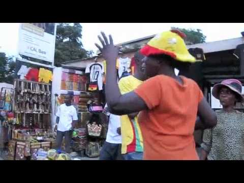 Osu, Accra, Ghana: Sights and Sounds