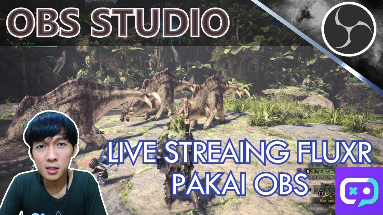 Cara Live Streaming Game Di Fluxr Dengan Software Obs Pc Youtube