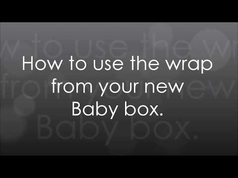 How To Put Baby In Your Baby Box Wrap