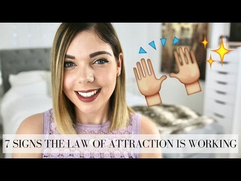 7 SIGNS THE LAW OF ATTRACTION IS WORKING | Emma Mumford