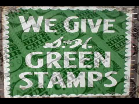 "Baby Boomers Tribute ""S&H Green Stamps Blue Chip Stamps"""