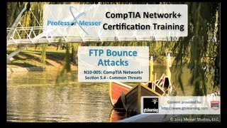 FTP Bounce Attacks - CompTIA Network+ N10-005: 5.4