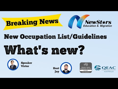 ACT Nomination (Canberra Matrix) Critical Skills List 2021 published | What's new? Better? Easier?
