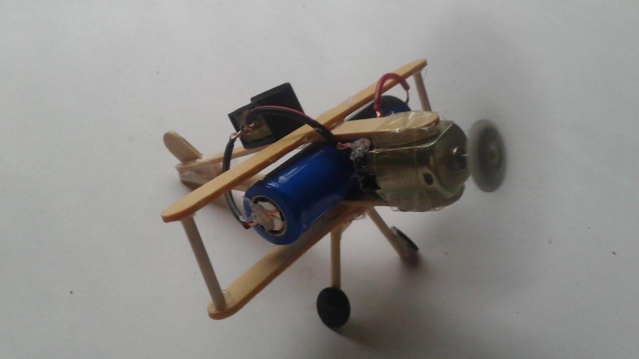 Ide Kreatif Membuat Pesawat Terbang Mainan Dari Stik Es Krim YouTube